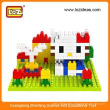 Diy toy LOZ blocks intelligence toys for children
