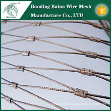 steel cable wire mesh steel cable mesh safety net