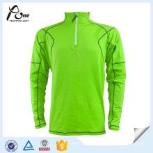 High Quality Dri Fit Half Zip Long Sleeve Polo Shirts