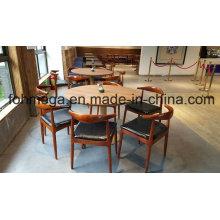 Mobília redonda da tabela e da cadeira do restaurante de 6 pessoas (FOH-RTC03)
