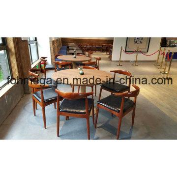 6 человек круглый ресторан стол и стул мебели (foh-пульта-RTC03)