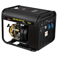 Essence de générateur d'inverseur de réservoir de carburant en plastique de la CE 8kw (WH8800I)