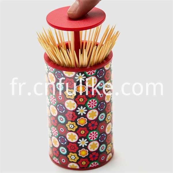 Plastic Toothpick Holder