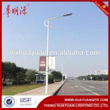 HDG pólos de iluminação de rua ao ar livre