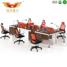 New Design 6 Person Seats Straight Office Partition Workstation (HY-Z01)