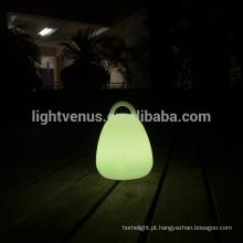 mudando de cor RGB decoração moderna lidar com candeeiro de mesa lanterna led lâmpadas luminária portátil