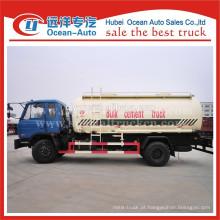 Dongfeng 153 4x2 caminhão de transporte de cimento a granel na China