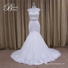New Arrival Real Sample Lace Mermaid Wedding Dress
