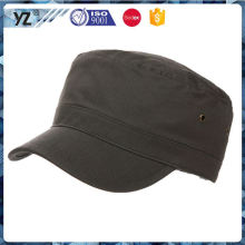 Latest product simple design custom army cap in many style
