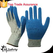 SRSAFETY 13 г латексные защитные перчатки с защитой от перчатки с перчатками
