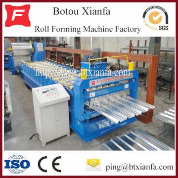 Folhas de alumínio IBR Roll dá forma à máquina