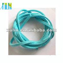 cabo de camurça plana, para jóias céu azul faux camurça cabo SJW014