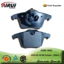 Полу-металлический тормозных колодок для автомобиля Вольво XC90 имущества 2002-
