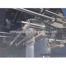 Ordinateur de contrôle roulant T-shirt et sac plat faisant la machine automatique à grande vitesse sac de papier de nourriture faisant la machine