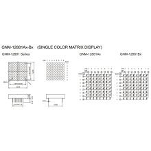 1,2 polegadas, 3,0 mm DOT (GNM-12881Ax-Bx)