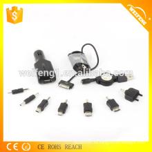 Cargador universal del coche de la alta calidad con 8 puertos para el teléfono celular / MP3 / MP4 / PSP CYM-168
