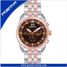 2016 relógio comercial no design de logotipo personalizado ocidental com preço de fábrica