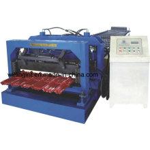 Máquina formadora de tejas galvanizadas