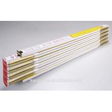 2 meter Wooden folding ruler ,folding wooden ruler 10 folded