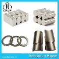 China Hersteller Super Strong High Grade Seltene Erde Gesinterte Permanent Watt-Stunde Meter Magnet / NdFeB Magnet / Neodym-Magnet