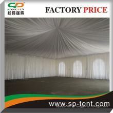 12x12m 2015 PVC-Dekoration Pagoden Party Zelt mit Auskleidungen und Vorhänge