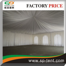 outdoor party tent 10m x10m with foldable tables and chairs