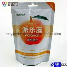 Dried Fruit Food Plastic Packaging Bag with Handle Hole