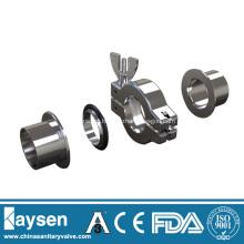 KF Clamps De Vácuo De Alumínio