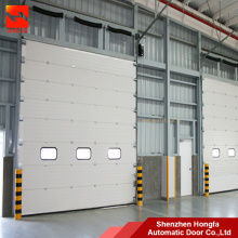 Galvanized Steel Industrial Sectional Overhead  Door