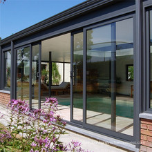 Aluminum lift Sliding Doors with Aluminum Alloy Frame Sliding Tempered Laminated Double Triple Glazed Pane