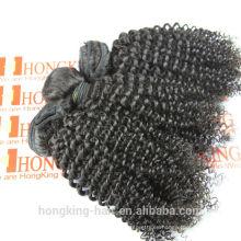extensiones de cabello rizado natural comprar humanos baratos ha