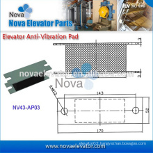 Elevator Parts, Traction Machine, Elevator Damping Rubber Pad for Lift Modernization