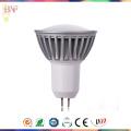 СИД наивысшей мощности Лампа gu5.3 умирает-литье Алюминиевый Прожектор с дневной свет/теплый