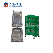 Custom injection plastic drawer cabinet plastic mold/commodities mold supplier