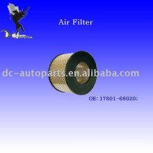 Filtro de ar radial Toyota do OE: 17801-68020
