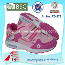 wholesale kids light sport shoes for girls with cartoon cheap price
