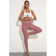 Leggings de yoga sin costuras jacquard