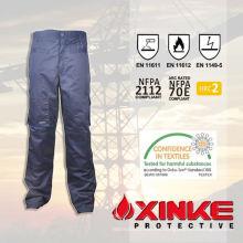 pantalones de nylon de calidad superior de protección contra incendios de algodón para la seguridad vial