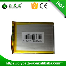 Li-polymer Battery 457296 3.7V 3600mAh Yocan Unique Design Online Ups Batería de polímero de litio