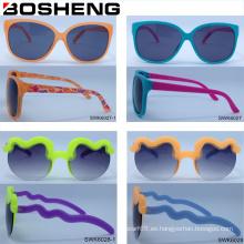 Gafas de sol de encargo baratas de los vidrios del diseño de la alta calidad