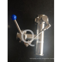 Sanitary Stainless Steel Butterfly Valve Clamp End