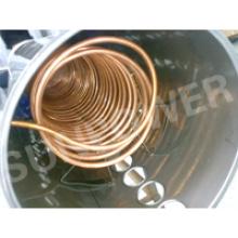Chauffe-eau solaire en bobine de cuivre (CE & SOLAR KEY MARK & SABS)