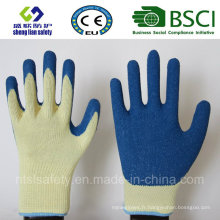 Gants en latex, gants de travail de sécurité (SL-R504)