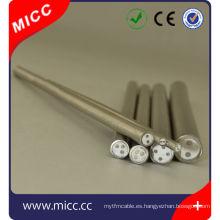 cubierta de cable de revestimiento de termopar mineral AISI310