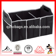 Portable Collapsible Folding For Car SUV Truck Organizer in Black