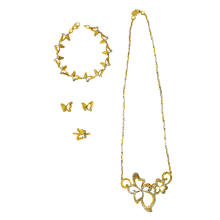 Conjunto de joyas Love of Butterfly