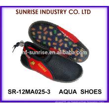 SR-12MA025-3 La nueva agua de la playa del niño de la llegada calza el calzado antirresbaladizo del agua de los zapatos del agua
