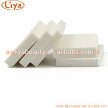 OEM-Großhandel weißes Quadrat Beflockung Make-up Blätterteig