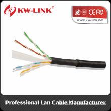 Шэньчжэньская фабрика Витая пара Наружная UTP FTP SFTP Cat5e Cat6 Сетевой кабель 1000ft / Roll