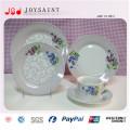 Plaques de dîner en vrac à prix abordable de vaisselle de qualité alimentaire incassable moderne de vaisselle